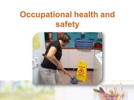 Occupational health and safety. Occupational health and safety legislation Each state/territory has OHS legislation that is usually presented in three.