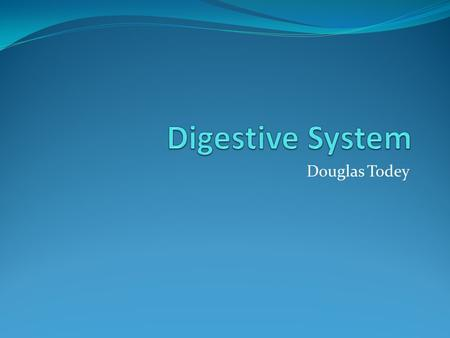 Douglas Todey. Functions The function of the digestive system is to turn food into energy and package the waste for disposal.
