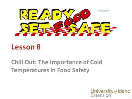 Chill Out: The Importance of Cold Temperatures in Food Safety 1.