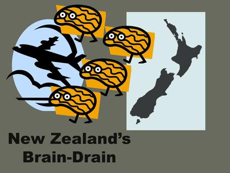 New Zealand's Brain-Drain. Between 1976 and 1980 320,000 New Zealanders emigrated to other countries. Between 1986 and 1990 nearly 310,000 New Zealanders.