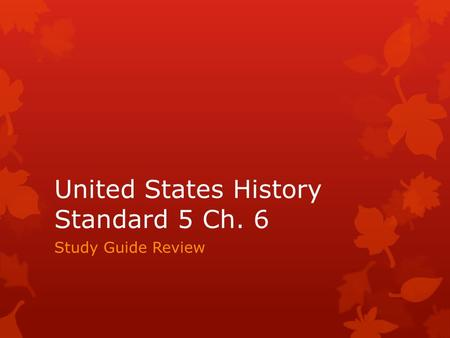 u s government study guide chapter 5 Job classification and compensation study  constitutional limits on the powers of government  (total length 2:40) from the almost painless guide: us.