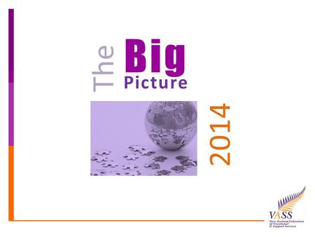 Big Picture The 2014. Investing in Services for Outcomes Enabling Good Lives Collective Impact Collaboration Local Area Co-ordination 'New Model' Better.