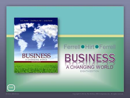 FHF McGraw-Hill/Irwin Copyright © 2011 by The McGraw-Hill Companies, Inc. All rights reserved.