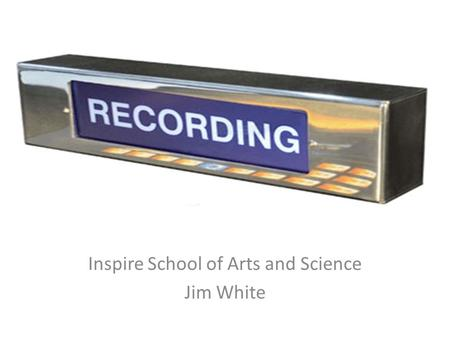 Inspire School of Arts and Science Jim White. Equalization (EQ) Equalization means boosting or cutting specific frequencies within an audio signal. A.
