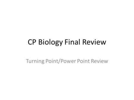 chapter 1 test biology
