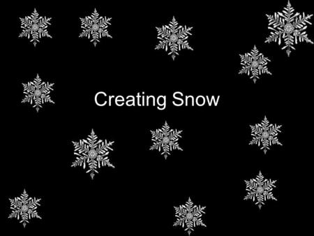 Creating Snow. Step 1 Begin opening an image on photoshop.