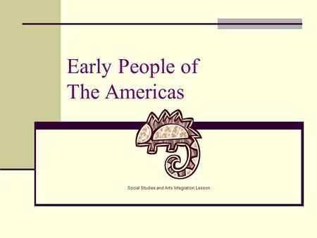 Early People of The Americas