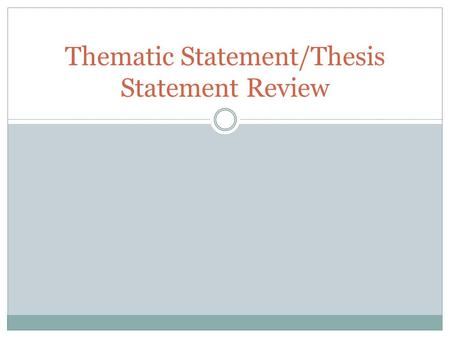 thematic thesis statement for conflict Thematic thesis statement for conflict contributors: elyssa tardiff, allen brizee last edited: 7569-57-65 65: 99: 98if you are writing a text that does not fall.