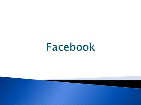  Facebook is a social network that has taken the internet by storm.  It's a place for people to connect, share information, promote businesses, and.
