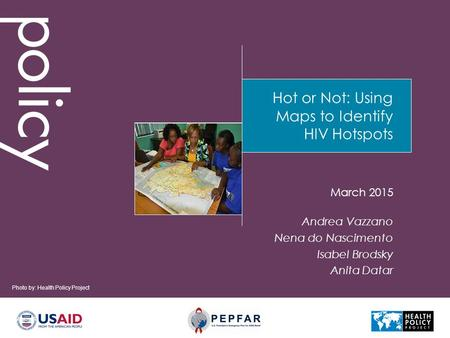 Hot or Not: Using Maps to Identify HIV Hotspots