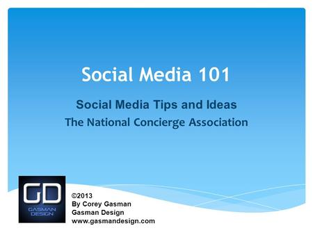 Social Media Tips and Ideas The National Concierge Association