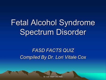 a discussion on the issue of the fetal alcohol syndrome in newborns My hope is that the next report published on this subject will be a celebration   pre- and post-natal growth deficiency – babies born with fas are commonly  smaller  level 2: discussion of alcohol use and related risks with all women of .