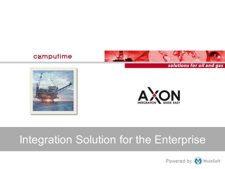 Powered by Integration Solution for the Enterprise.
