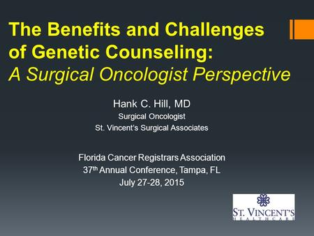 The benefits of genetic counselling for would be couples