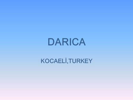 DARICA KOCAELİ,TURKEY. Darıca is a small sea side town of Kocaeli, Turkey.