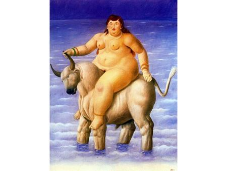 Fernando Botero Angulo (born April 19, 1932) is a Colombian figurative artist. His works feature a figurative style, called by some Boterismo, which.