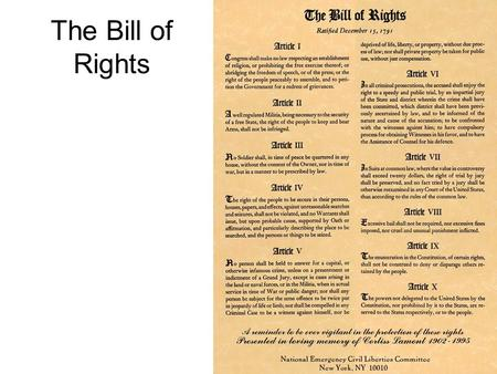 the differences between the bill of rights and the amendments View test prep - the difference between a bill of rights and an amendment from government 101 at jasper county high school running head: difference between bill of rights and amendments the.