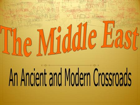 " ""Middle East"" is a term invented by Europeans to describe the geographical region that lies between Europe and distant parts of Asia (what they called."