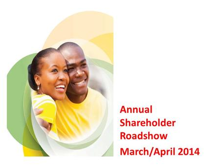 Annual Shareholder Roadshow March/April 2014. Contents 1.Objectives of Hlumisa 2.ABIL shareholding 3.Reserve shares 4.Unclaimed dividends and documentation.