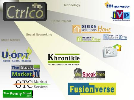 Ctrlco Incorporated is a new generation online business and marketing development company specializing in technology creation and procurement, as well.