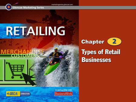 Types of Retailers Types of Retail Ownership 2 Chapter Objectives Explain the NAICS categories for the retail industry. Name the types of business organization.