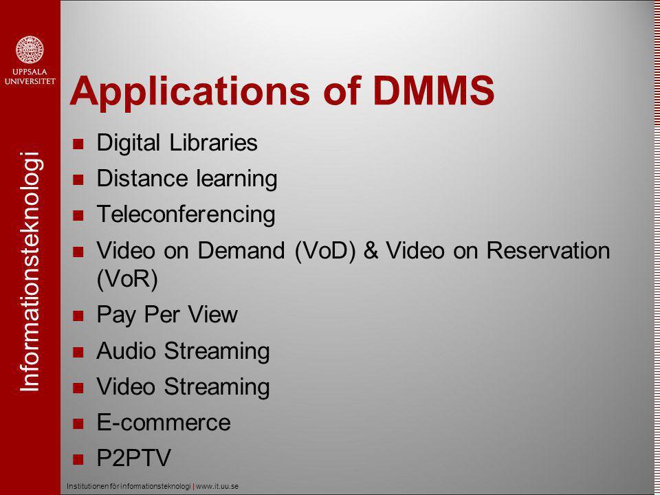 Informationsteknologi Institutionen för informationsteknologi | www.it.uu.se Voddler  Video on Demand and Pay Per View  Long movies  Requires high bandwidth  Hybrid P2P distribution network
