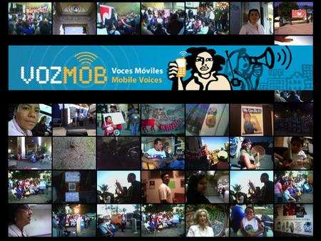 VozMob Open-source storytelling platform for recent immigrants in Los Angeles to create and publish stories about their community, directly from mobile.