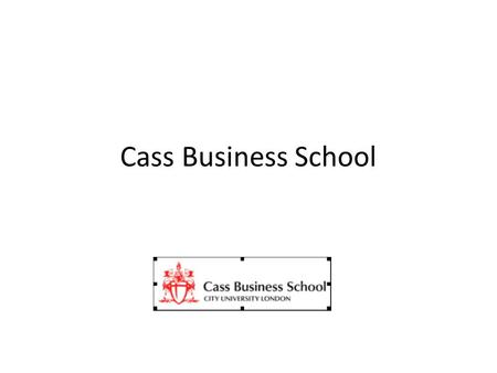 Cass Business School. A business model that will provide clean water to 100m slum inhibitors in 5 years We offer: Availability -Matching and meeting household.