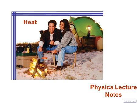 Heat Physics Lecture Notes