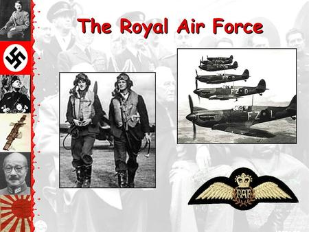 "The Royal Air Force. The London ""Tube"": Air Raid Shelters during the Blitz."