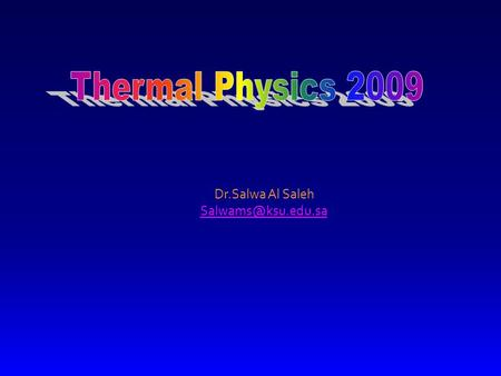 Dr.Salwa Al Saleh Lecture 12 Air Conditioners Air Conditioners Air Conditioners Air Conditioners.