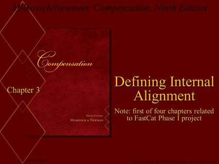 Defining Internal Alignment