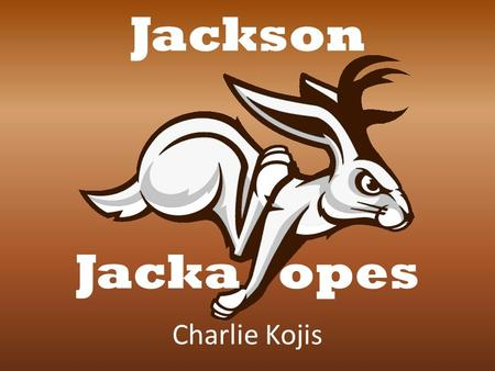 Charlie Kojis Jackson Jacka opes. Jackson, Mississippi No team in area 200,000 in Jackson Over 3 million in MS Median Age: 33.4 Mostly African-American.