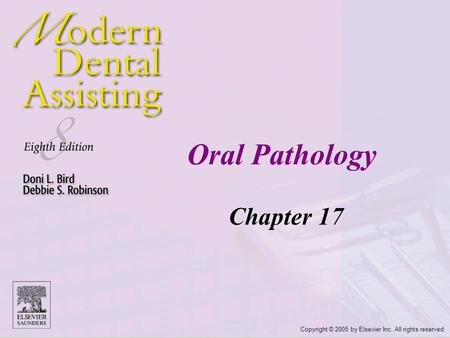 Oral Pathology Chapter 17