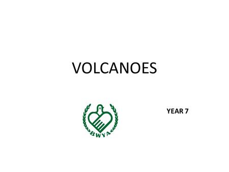 VOLCANOES YEAR 7. 4. VOLCANIC LANDFORMS 1.Landforms from Lava and Ash: – Shield volcanoes (from hot spots) Shield volcanoes – Cinder cone volcanoes Cinder.