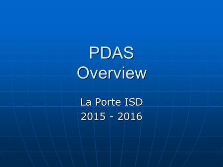 Professional development and appraisal system rules to for La porte isd