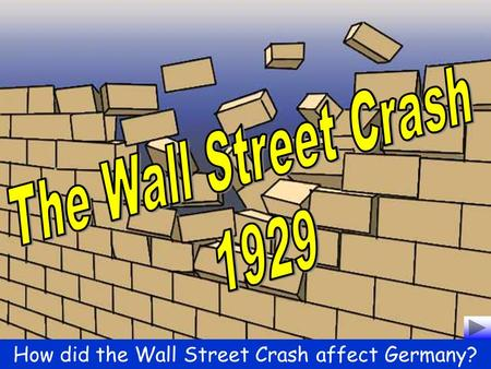 impact of wall street crash on nazi support Extensive ppt and activities that links to chapter 23 of the new edexcel gcse 9-1 textbook, looking at the growth of support for the nazi party following the wall street crash   lessons on this topic are newly planned to meet the exacting st.