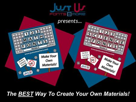 The BEST Way To Create Your Own Materials! presents…