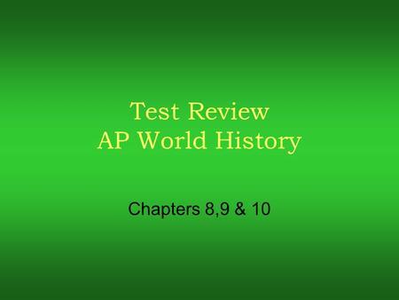 past ap world comparative essays