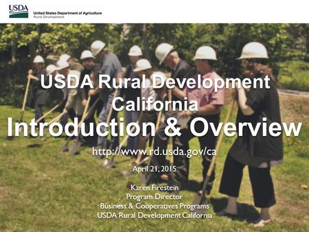 USDA Rural Development California