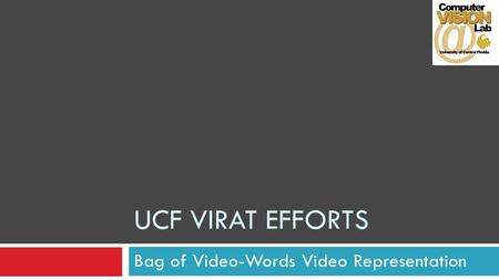 Bag of Video-Words Video Representation