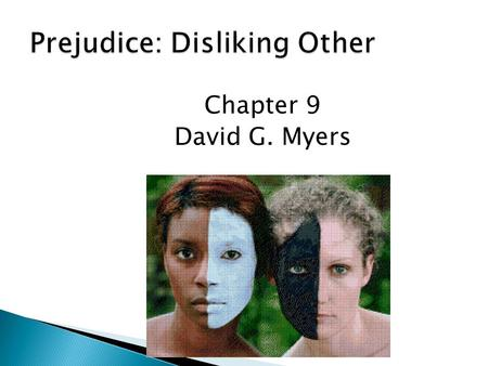 Prejudice: Disliking Other