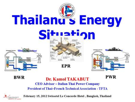 Thailand's Energy Situation