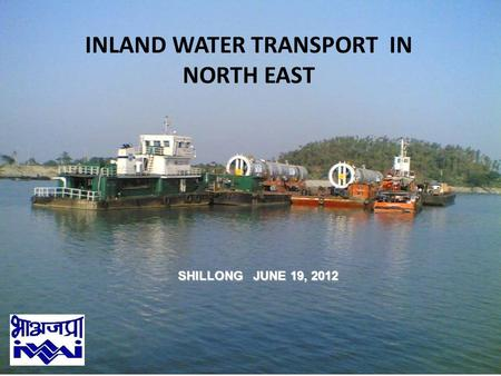 INLAND WATER TRANSPORT IN