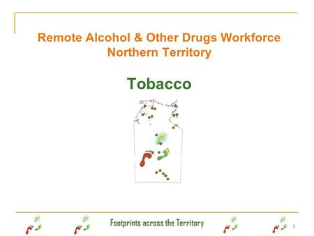 Remote Alcohol & Other Drugs Workforce Northern Territory Tobacco