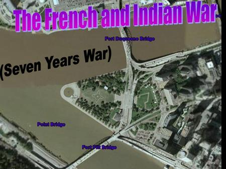 Cause of French & Indian War Study the map and describe one cause of the French and Indian War?