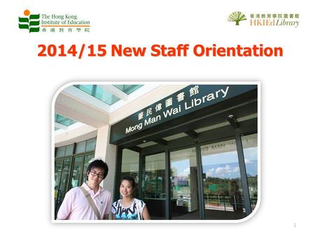 2014/15 New Staff Orientation 1. Presentation Outline The Basics Tips and Services Highlights –Borrowing –Using other local university library resources.