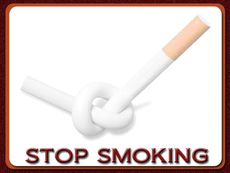 JUST STOP Tobacco smoke contains over 4,000 different chemicals. At least 50 are known carcinogens (cause cancer in humans) and many are poisonous. Tobacco.