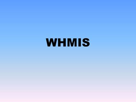 WHMIS. Class A COMPRESSED GAS  Gases under high pressure  Could explode if dropped, bumped, punctured or heated  Examples: Oxygen, helium, carbon dioxide.