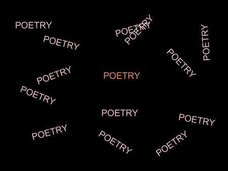 poetry final exam essay Essentials of english composition 101 will help you,  (write a reflective essay) 10 pts final exam:  review poetry and write a literary analysis based on the.
